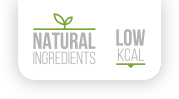 Natural Ingredients | Low KCAL